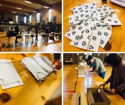 COVID-19: La distribution de masques en préparation à Genappe !