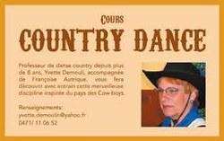 De la danse country sur le ballodrome de Genappe